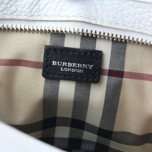 Burberry Leather Baguette Bag